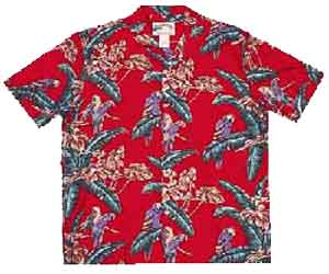 Paradise Found Jungle Bird Shirt